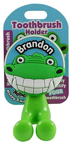 John Hinde My Name Brandon Toothbrush Holders