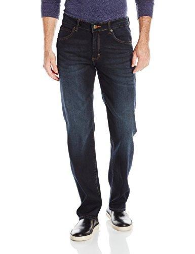 Lee Men's Modern Series Straight-Fit Jean, Crooked, 30W X 32L
