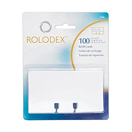 Rolodex 67558 Ricambi per Schedari Rotativi Newell Rubbermaid