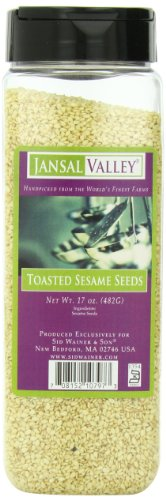 Jansal Valley Toasted Sesame Seeds, 17 Ounce by Jansal Valley