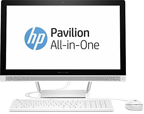 HP Pavilion (24-b155ng) 60,45 cm (23,8 Zoll / FHD IPS) All In One Desktop PC (Intel Pentium G4400T, 8 GB RAM, 1 TB HDD, Intel HD-Grafikkarte 510, Windows 10 Home 64) Weiß