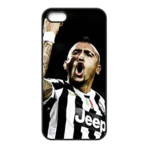 Arturo Vidal iPhone 4 4s Cell Phone Case Black TPU Phone Case SV_113304