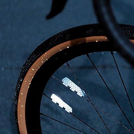 2pcs Bike Foot Pedal Universal Bicycle Reflector Cycle Cycling Reflectors ECCAJK