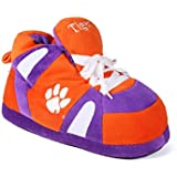 Happy Feet Mens and Womens NCAA College Sneaker Slippers