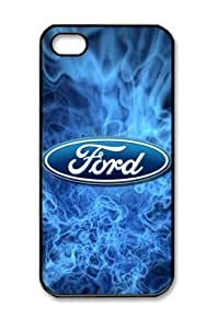 Ford Logo Flames For Htc One M9 Phone Case Cover Hard Shell(pc Material)