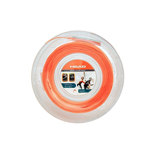 HEAD Evolution Pro 17 Squash String Reel - Orange by HEAD