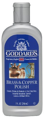 Goddards Brass and Copper Polish Liquid, 7-Ounce by Goddard's 7-Ounce by Goddard's Northern Labs Inc.