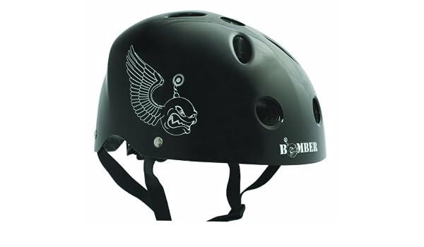 BONEShieldz Bomber juventud casco, negro: Amazon.es: Deportes y aire libre