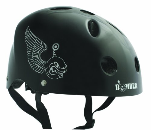 BONEShieldz Bomber Youth Helmet, Black