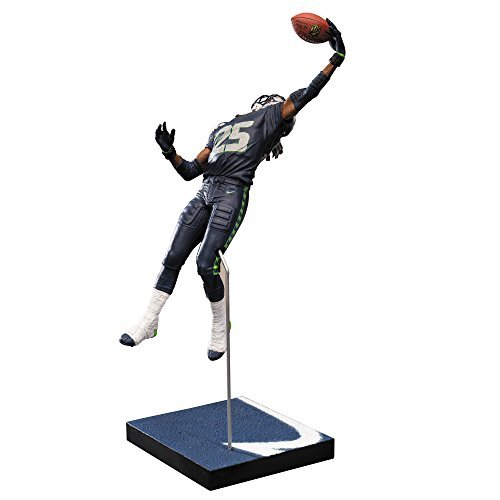 McFarlane Toys NFL Series 36 Richard Sherman Seattle Seahawks Action Figure