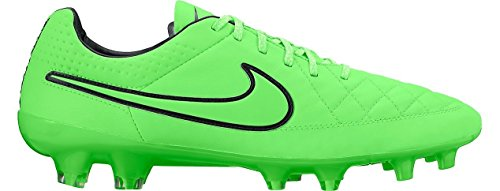 Nike - Zapatillas de fútbol Tiempo Legend V FG Gris - verde