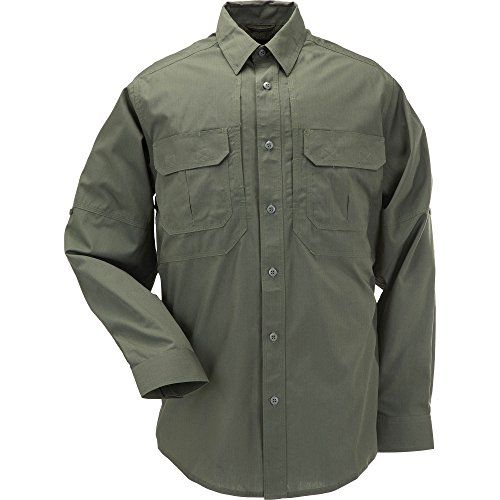 5.11 Tactical #72175 TacLite Professional Long Sleeve Shirt,2X-Large,TDU Green by 5.11