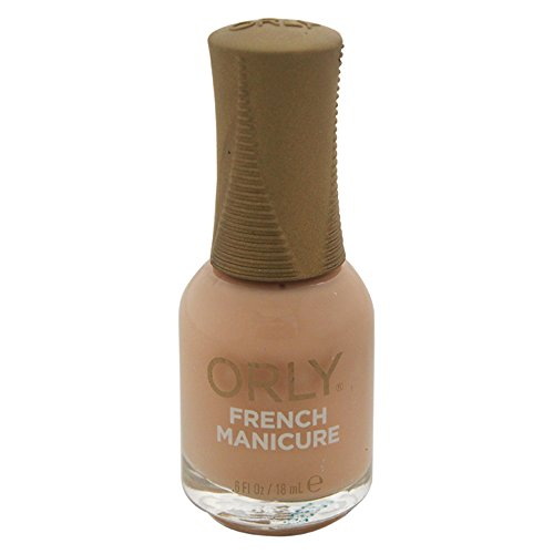 Natural French Manicure - Orly Nail Lacquer French Man, Sheer Nude, 0.6 Fluid Ounce