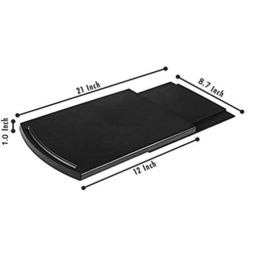 Multiuse Kitchen Caddy Sliding Coffee Maker Tray Mat,Countertop Storage for Blender Toaster Kitchen Appliances-12
