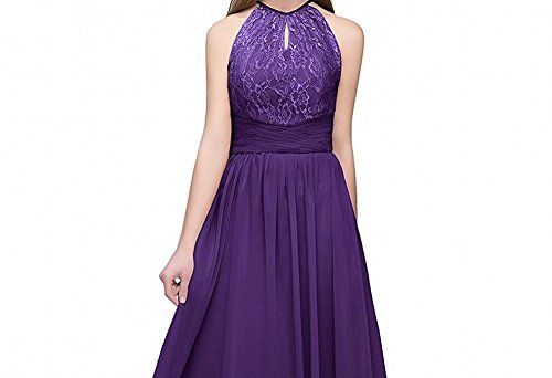 Leader Beauty of Damen Dunkelviolett the Kleid EPPrq8