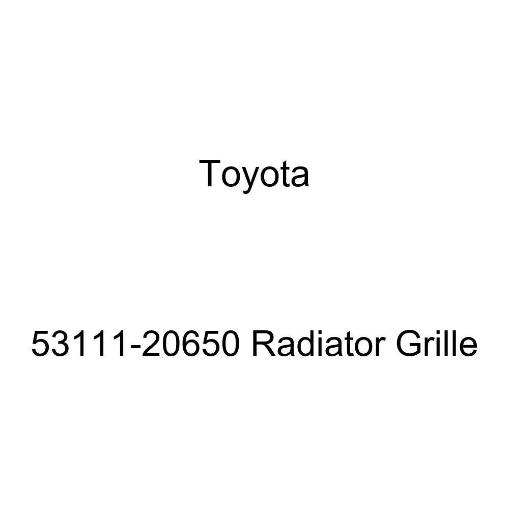 Genuine Toyota 53111-20650 Radiator Grille