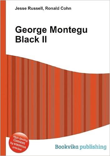 George Montegu Black Sr.