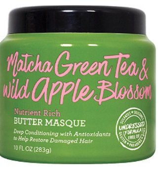 Not Your Mother's Matcha Green Tea & Wild Apple Blossom Nutrient Rich Butter Masque 10oz, pack of 1 (Apple Green Tea Tea)