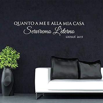 Italia Quanto A Me E Alla Mia Casa Tatuajes de pared Sala de estar ...