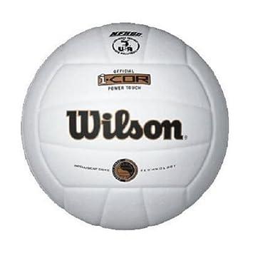 Wilson I-Cor Power Touch Balon Interior, Voleibol, Blanco, 5