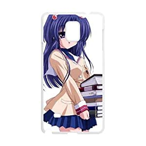 Clannad Samsung Galaxy Note 4 Cell Phone Case White Decoration pjz003-3804520