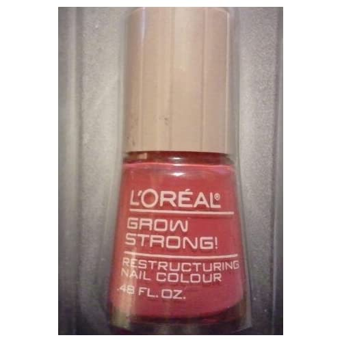 Loreal Grow Strong Nail Colour 211 Fraise