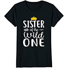 Sister of The Wild One Thing 1st Birthday Awesome Tshirt