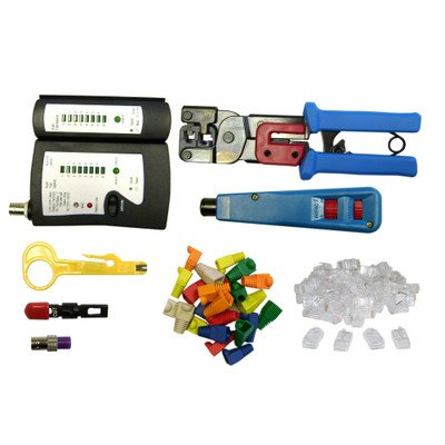 Soho Tester - SOHO Network Tester and Tool Kit, 8 Pieces ( 2 PACK ) BY NETCNA