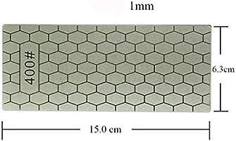 MA87 400/1000# Piedra afiladora de diamante pulida para afilar platos, 2 piezas de herramientas de cocina, herramienta de afilado de jardín: Amazon.es: Hogar