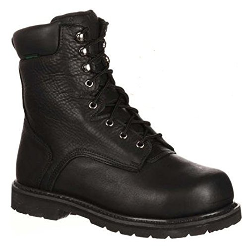 Lehigh Safety Shoes Unisex Steel Toe Internal Met Guard Mens LEHI011 Black