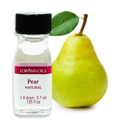 Pear Flavor - 2 Dram Pack - LorAnn Oils - Includes a Recipe (Pear Flavor)
