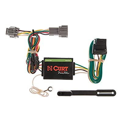 CURT 55362 Vehicle-Side Custom 4-Pin Trailer Wiring Harness for Select Nissan Frontier, Quest, Mercury Villager: Automotive