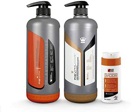 Revita Hair Growth Stimulating Shampoo for Men and Women - DHT Blocker w/FREE Revita Gel for Thicker Hair - Hair Revitalizing Shampoo & Conditioner Bundle