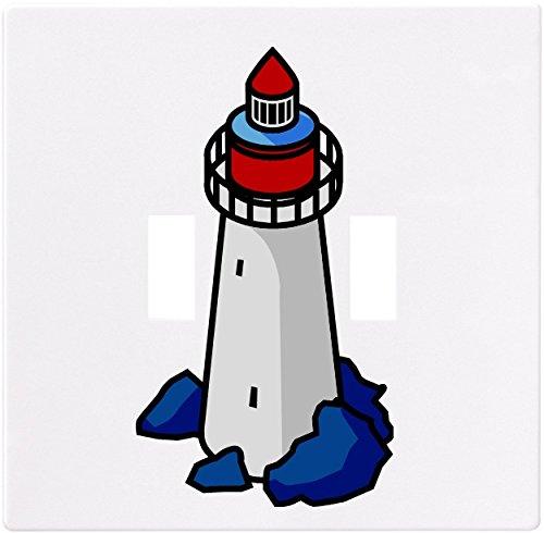 夏セール開催中 MAX80%OFF! 灯台ウォールプレート装飾ライトスイッチプレートカバー( 2ギャング – 2ギャング B00MI3X11M Double Tog。。 –。 B00MI3X11M, ナジェール:8a36a9c2 --- svecha37.ru