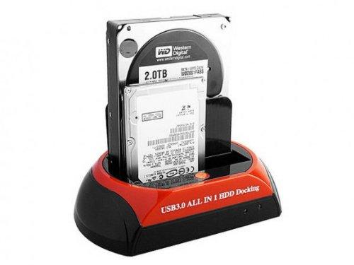 Docking Station para HD 2, 5 –  3, 5 SATA y IDE Piu 'Puertos USB 2.0 5-3 5SATA y IDE Piu ' Puertos USB 2.0 I.T.C. SRL