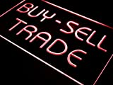 ADVPRO Buy Sell Trade Display Lure Bar LED Neon Sign Red 12'' x 8.5'' st4s32-i533-r