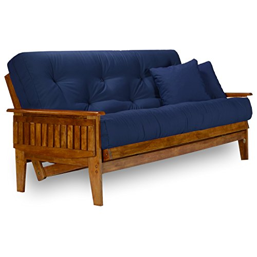 Nirvana Futons Eastridge Futon Set - Queen Size, Frame, 8