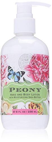 Hand and Body Lotion, Peony, 8 Fluid Ounce (Peony Hand Cream)
