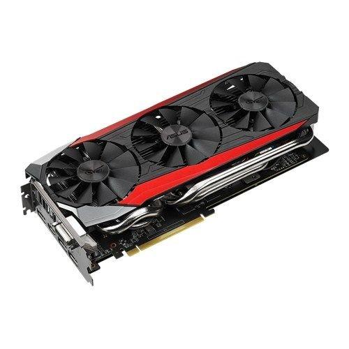 ASUS STRIX Radeon R9 390 Overclocked 8 GB DDR5 512-bit DisplayPort HDMI  1 4a DVI-I Gaming Graphics Card