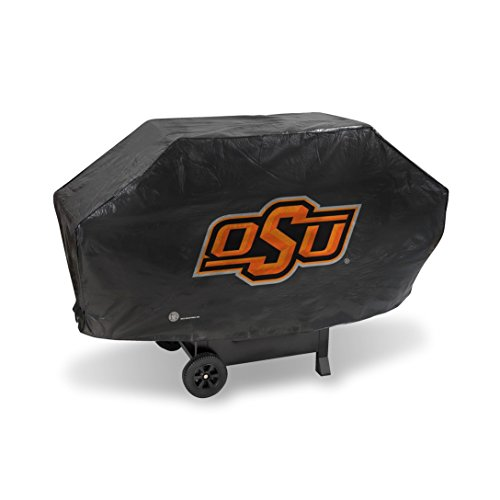 Oklahoma State Cowboys DELUXE Heavy Duty BBQ Barbeque Grill Cover