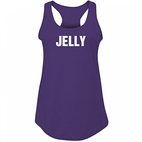 [PB&J Jelly BFF Costume Shirt:Junior Fit Racerback Tank] (College Girls Group Halloween Costumes)