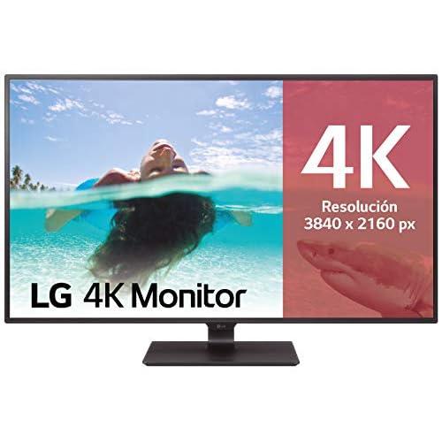 LG 43UD79 B Monitor 4K UHD de 108 cm 42 5 con Panel IPS 3840 x 2160 píxeles 16 9 350 cd m NTSC 72 1000 1 8 ms 60 Hz Color Negro