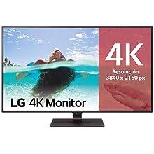 "LG 43UD79-B - Monitor 4K UHD de 108 cm (42,5"") con Panel IPS (3840 x 2160 píxeles, 16:9, 350 cd/m², NTSC >72%, 1000:1, 8 ms, 60 Hz) Color Negro"