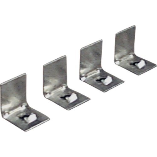 Progress Lighting P8700-01 4 Plaster Frame Clips for Complete Squares and P7211 - Recessed 01 Lighting Accessory