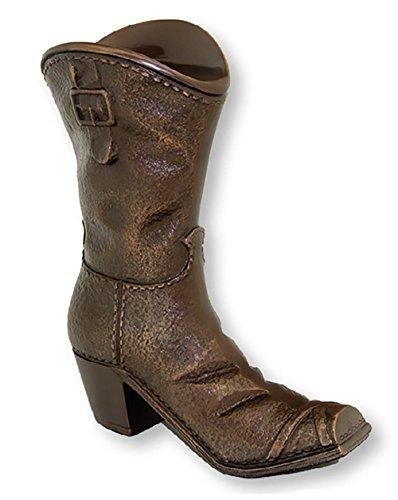 Brass Cowboy Boot Cremation Urn