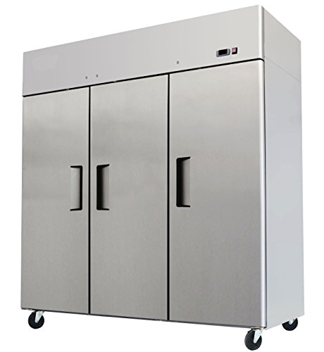 Triple Stainless Commercial Refrigerator MBF 8006 product image
