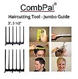 "CombPal Hair Cutting Tool Jumbo Guide 3"" and 3"