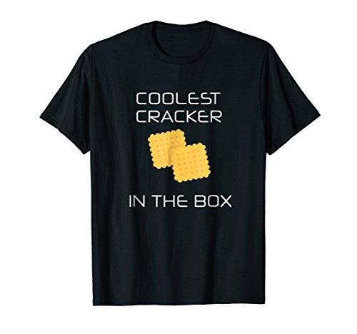 Coolest Cracker In The Box T-Shirt | Junk Food Humor Tee