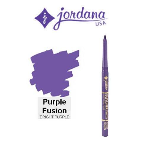 Hot 3 Pack Jordana Cosmetics Easyliner for Eyes 18 Purple Fusion