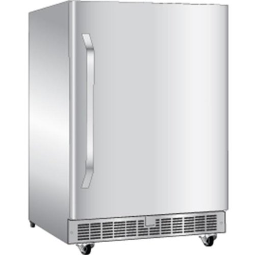 Danby DOAR154SSST Silhouette 5.4 Cu. Ft. Stainless Steel Counter Depth Compact Refrigerator - Energy Star by Danby